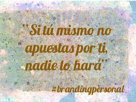 El branding personal es una carrera de fondo para conseguir el desarrollo personal